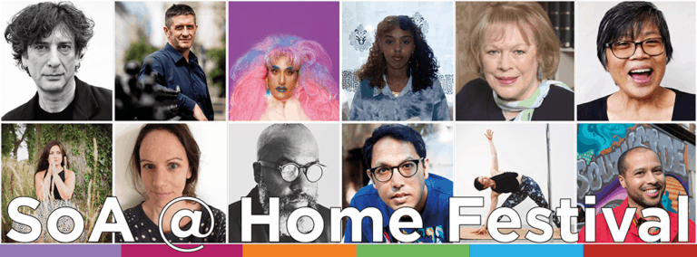 From Gaiman to Atwood: announcing the new line-up for the SoA @ Home Festival