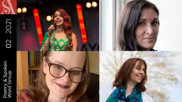 Poetry and Spoken Word Group Panel 2021: Building Resilience as a Poet