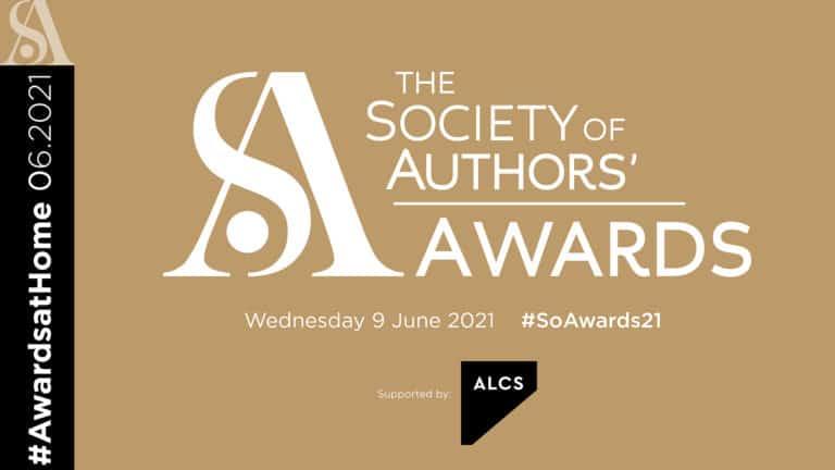The Society of Authors' Awards 2021: Winner Ceremony